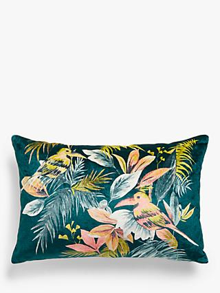 John Lewis & Partners Selva Bird Cushion