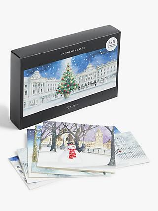 John Lewis & Partners  London Bumper Charity Christmas Cards, Box of 25
