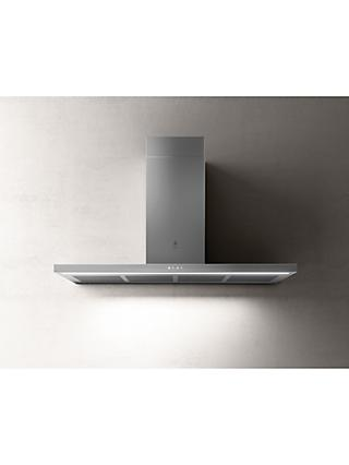Elica THIN-120 119.8cm Chimney Cooker Hood, A Energy Rating, Stainless Steel