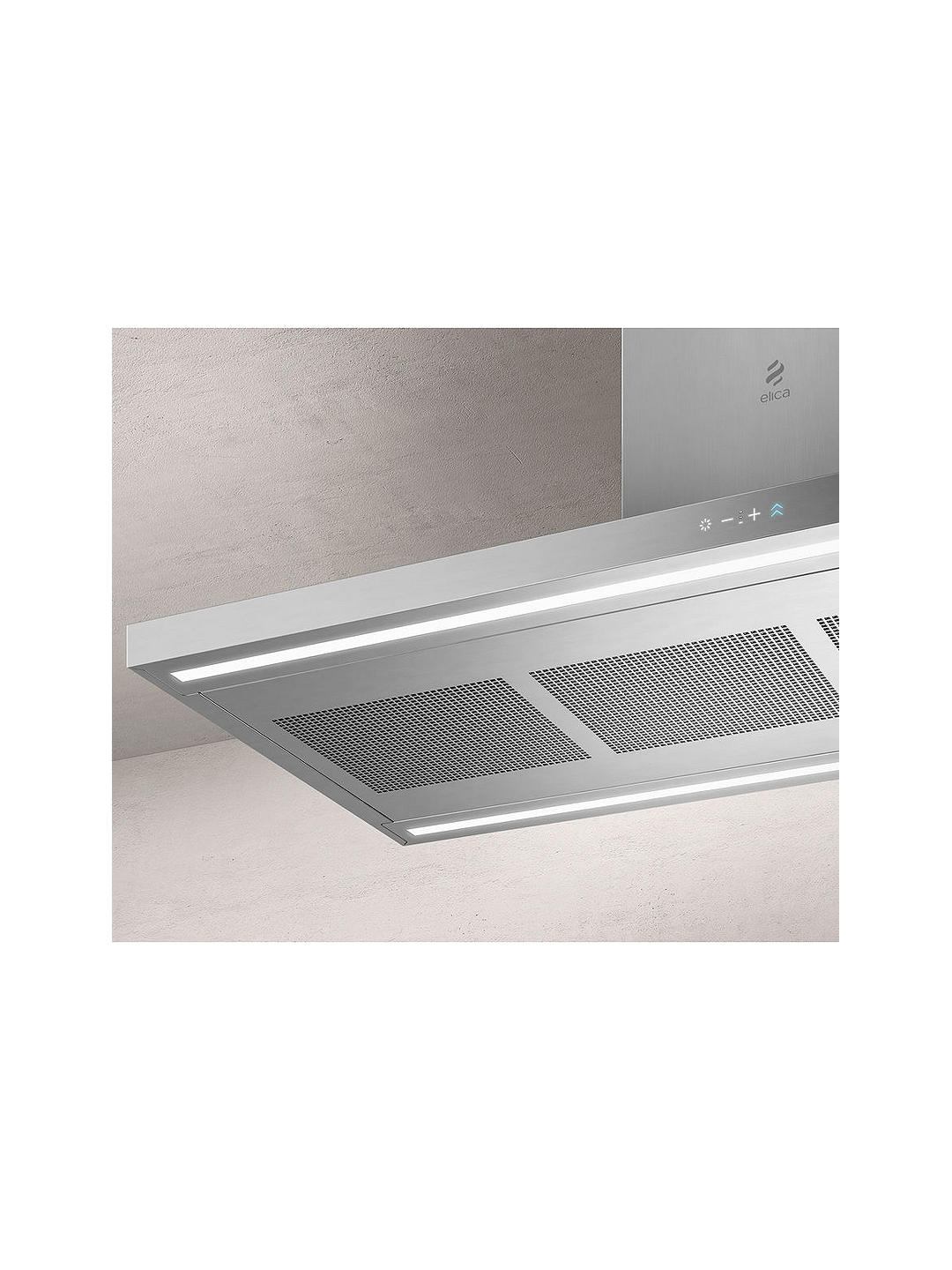 Buy Elica THIN-120 119.8cm Chimney Cooker Hood, A Energy Rating, Stainless Steel Online at johnlewis.com