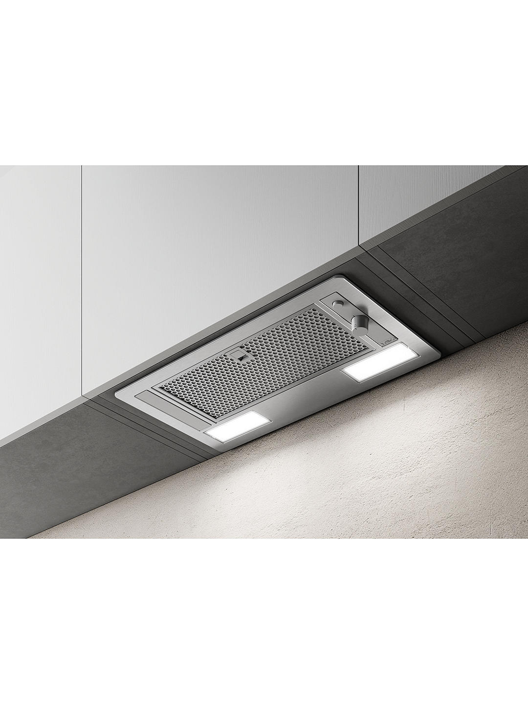 Buy Elica ERA-HE-SS-60 53.5cm Built In Cooker Hood, B Energy Rating, Stainless Steel Online at johnlewis.com