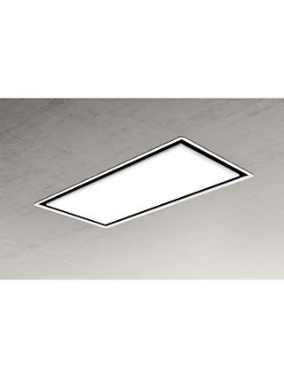 Elica SKYDOME16 100cm Ceiling Cooker Hood, A Energy Rating, White
