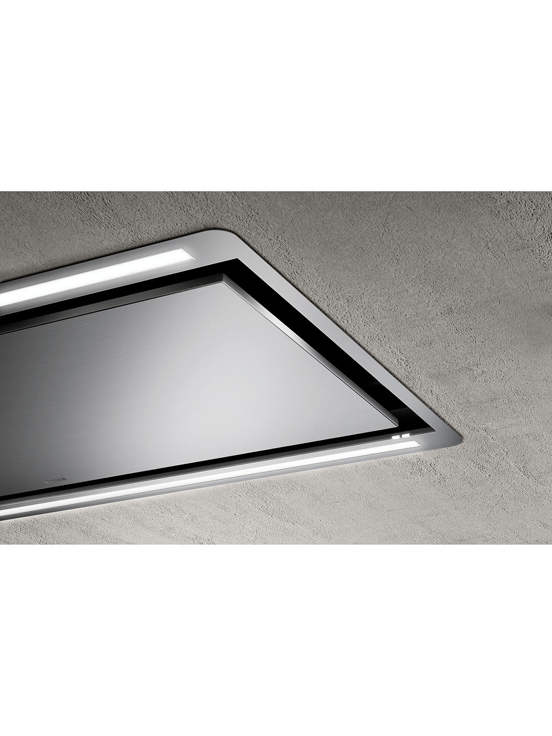 Buy Elica HILIGHT30-SS 100cm Ceiling Cooker Hood, A Energy Rating, Stainless Steel Online at johnlewis.com