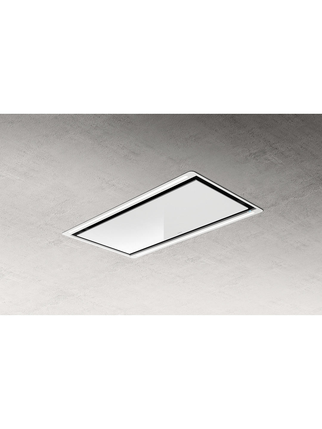 Buy Elica HILIGHT30-WH 100cm Ceiling Cooker Hood, A Energy Rating, White Online at johnlewis.com