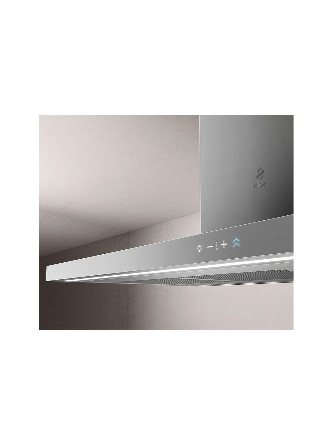 Buy Elica THIN-ISLAND 119.8cm Island Cooker Hood, A Energy Rating, Stainless Steel Online at johnlewis.com