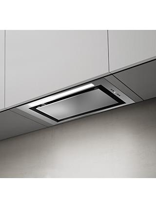 Elica LANE-60-SS 51.4cm Built-In Cooker Hood, B Energy Rating, Stainless Steel