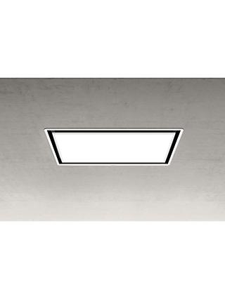 Elica SKYDOME30 100cm Ceiling Cooker Hood, A Energy Rating, White