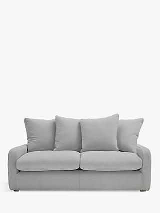 Floppy Jo Medium 2 Seater Sofa by Loaf at John Lewis, Clever Softie Pewter