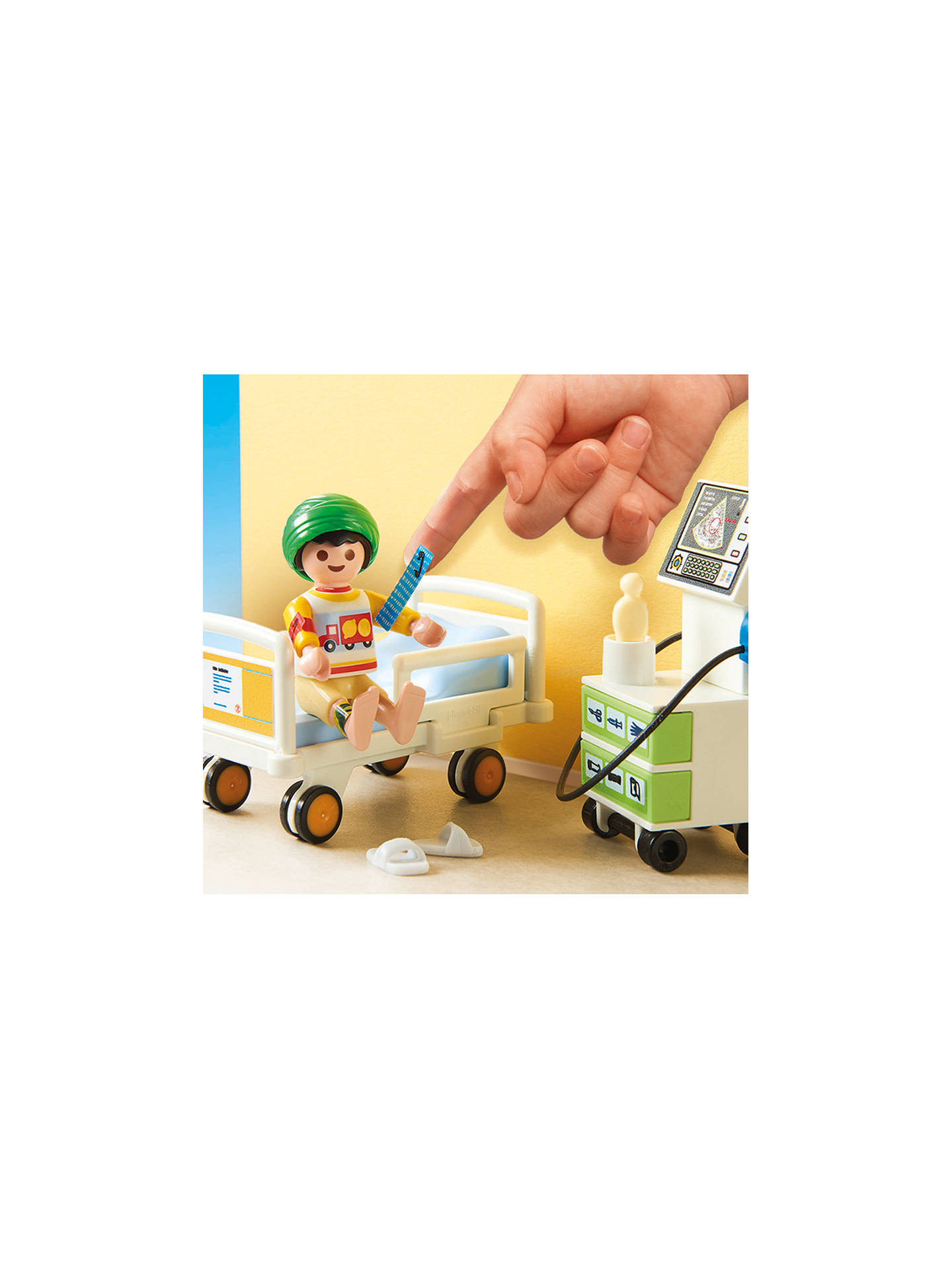 Buy Playmobil City Life 70192 Children's Hospital Room Online at johnlewis.com