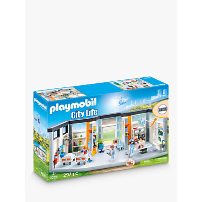 Click here for Playmobil City Life 70191 Hospital Wing