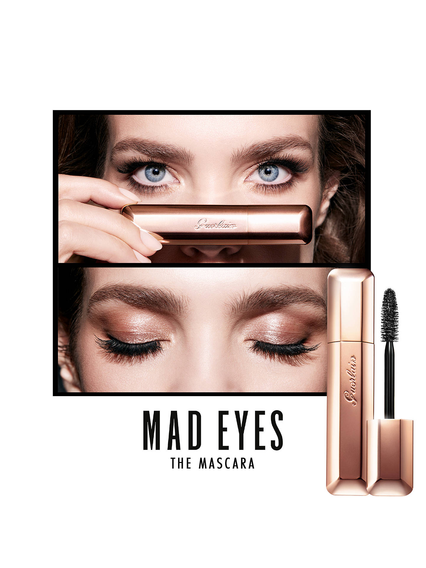 Guerlain Mad Eyes Buildable Volume Mascara at John Lewis & Partners