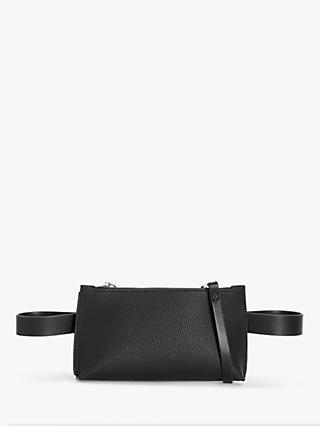 Kin Sadi Cross Body Belt Bag, Black