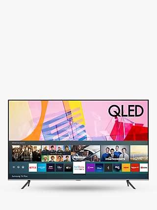Samsung QE65Q65T (2020) QLED HDR 4K Ultra HD Smart TV, 65 inch with TVPlus, Black