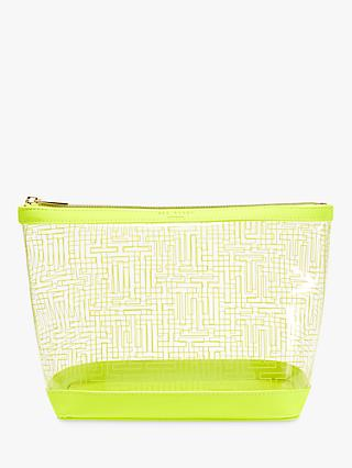 Ted Baker Khloeee Trapeze Makeup Bag, Lime Green