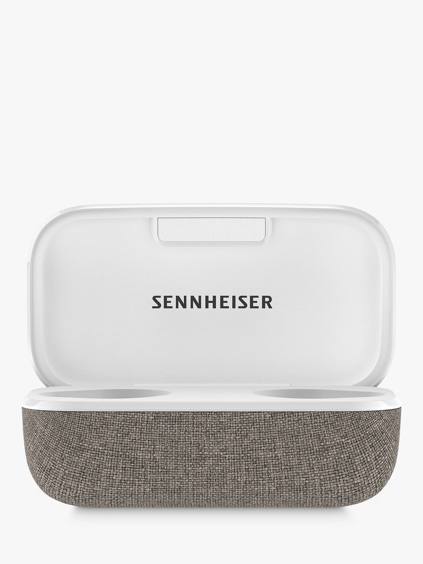 Buy Sennheiser Momentum True Wireless 2 Noise Cancelling Bluetooth In-Ear Headphones with Mic/Remote, White Online at johnlewis.com