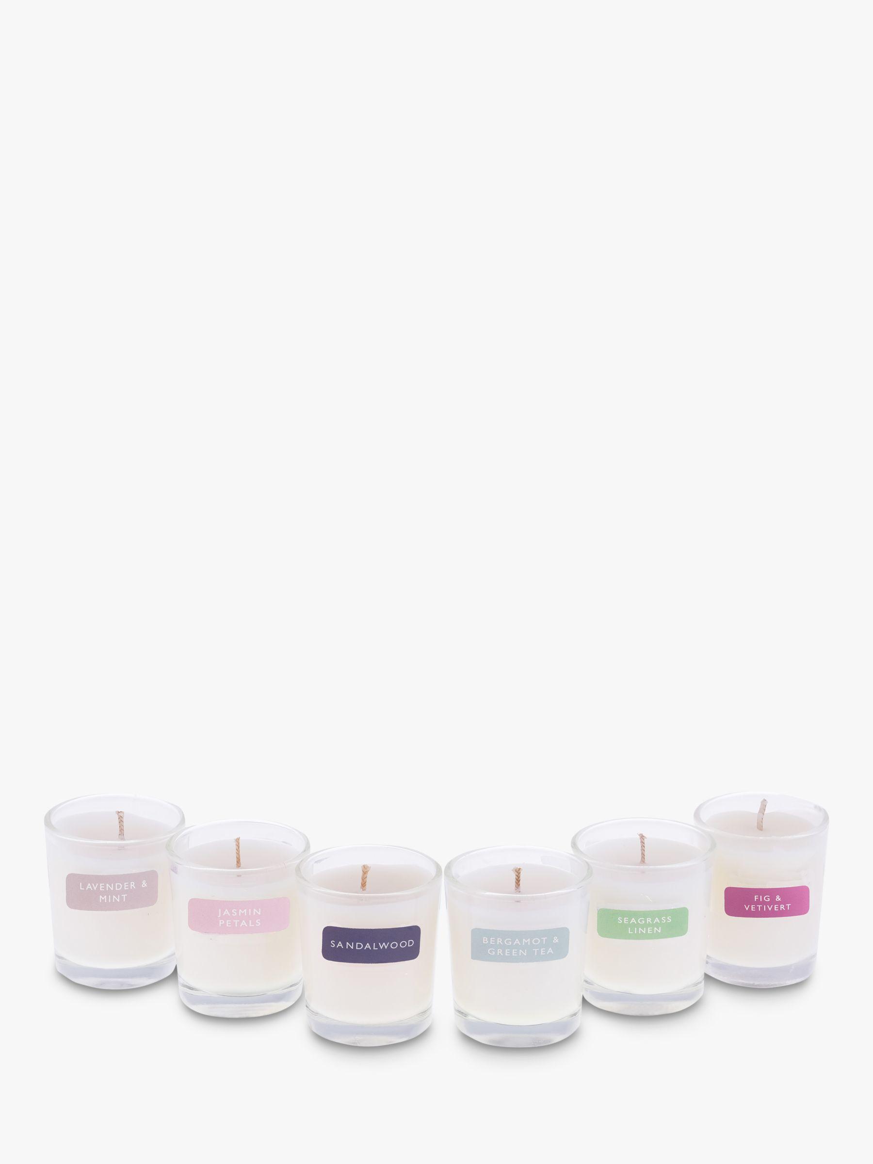 John Lewis Partners Mini Scented Candle Gift Set At John Lewis Partners