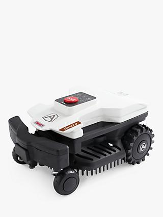Ambrogio Twenty Deluxe Robotic Self-Propelled Lawn Mower, 18cm, White