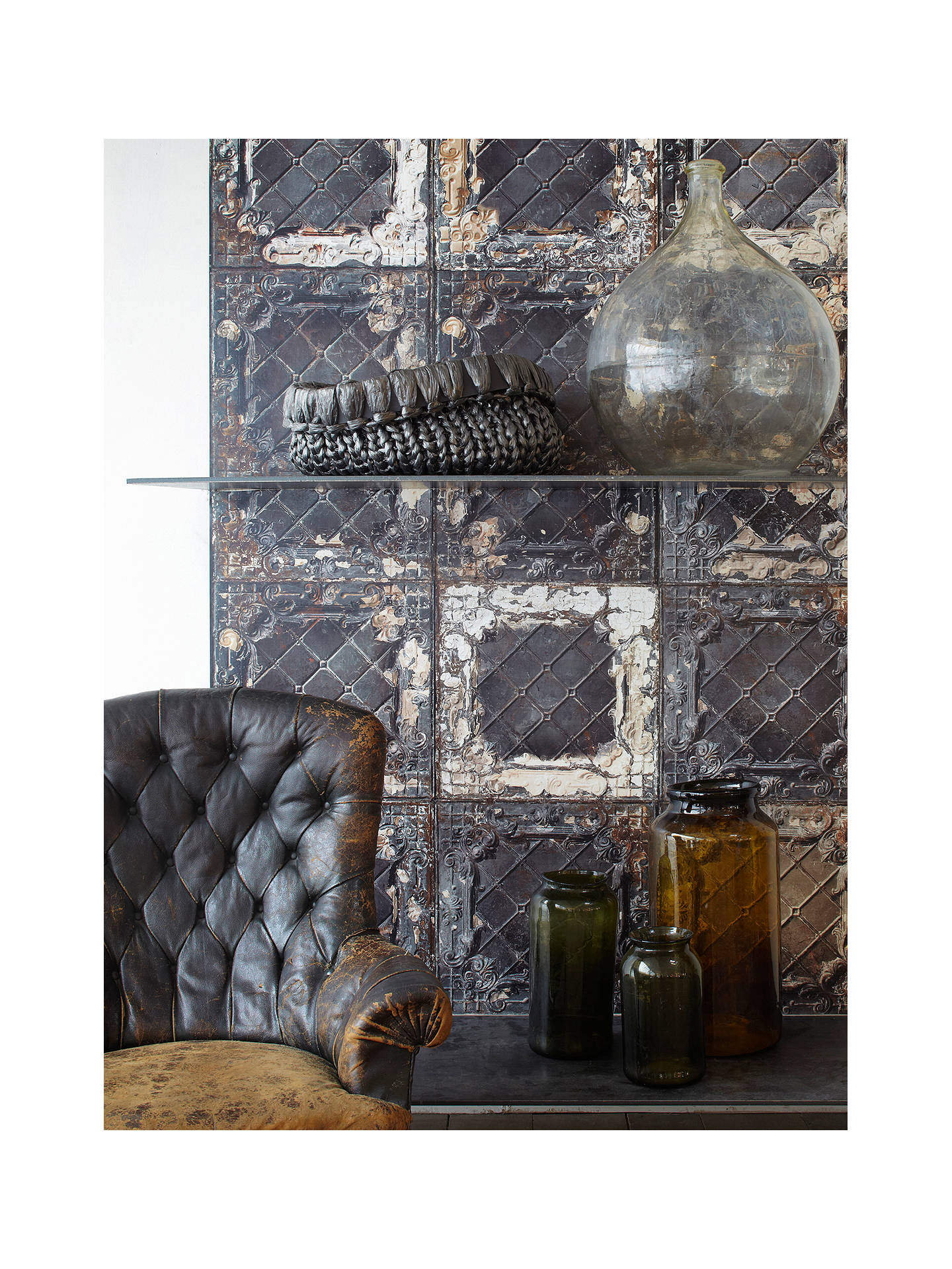 Buy NLXL Tile Wallpaper, TIN-07 Online at johnlewis.com