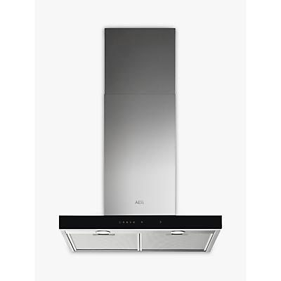 AEG DBE5661HG 60cm Chimney Cooker Hood, A Energy Rating, Stainless Steel