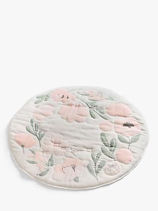 Pottery Barn Kids Organic Cotton Muslin Play Mat, Meredith Floral