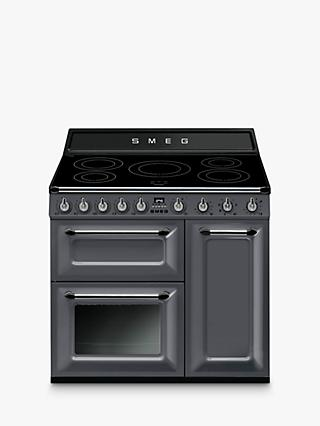 Smeg Victoria TR93I Range Cooker with Induction Hob, 90cm Wide