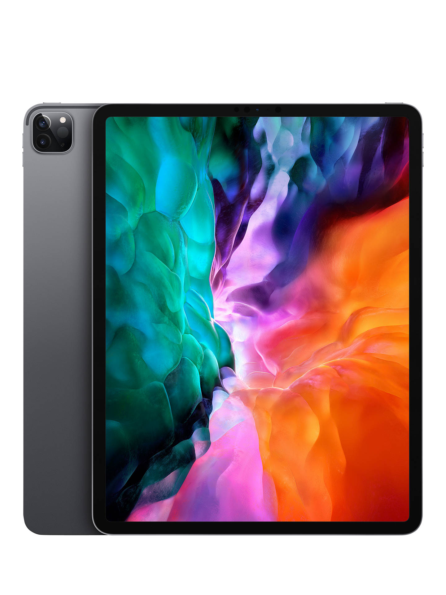 "Buy 2020 Apple iPad Pro 12.9"", A12Z Bionic, iOS, Wi-Fi, 512GB, Space Grey Online at johnlewis.com"