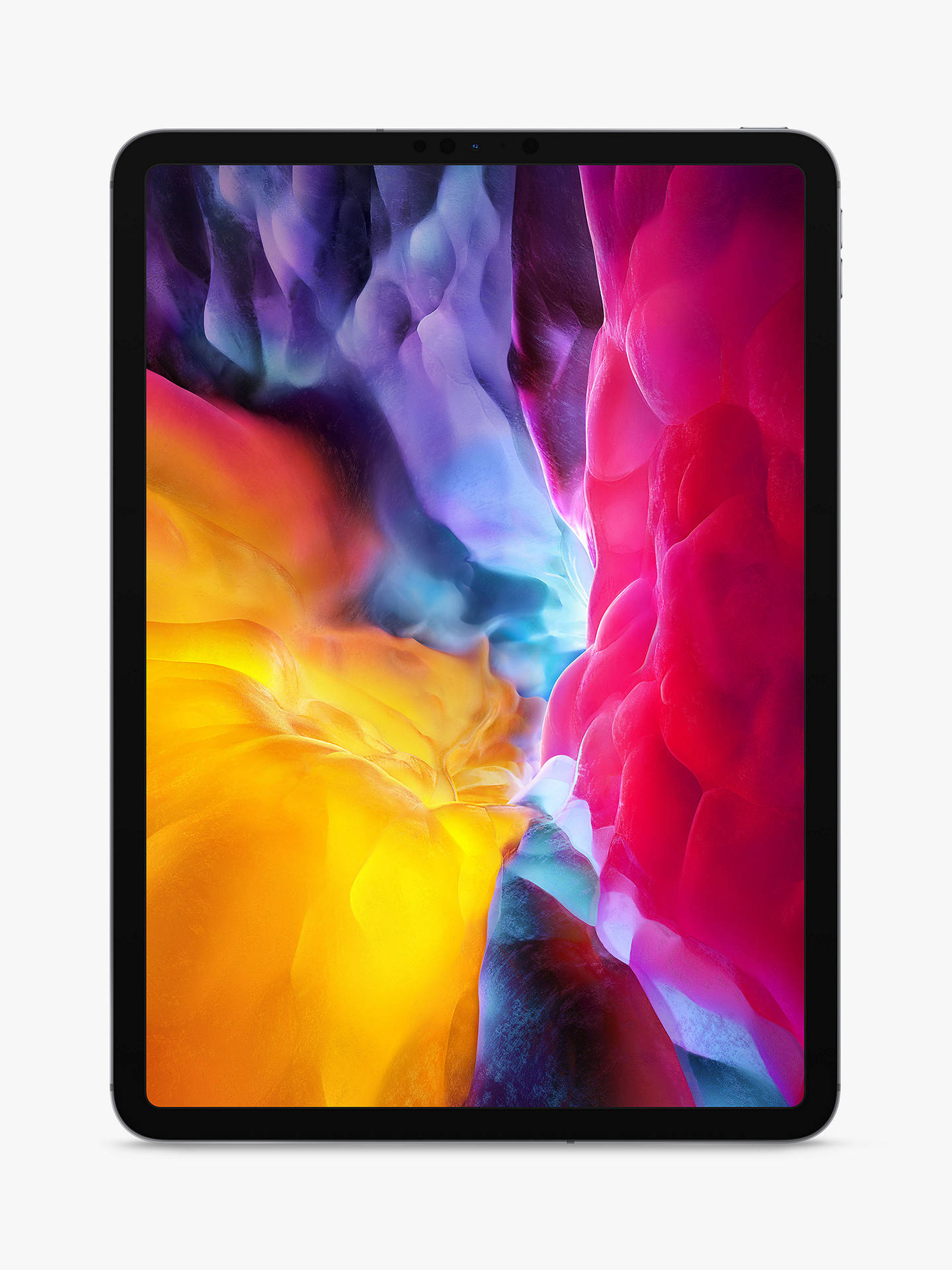 "Buy 2020 Apple iPad Pro 11"", A12Z Bionic, iOS, Wi-Fi & Cellular, 256GB, Space Grey Online at johnlewis.com"