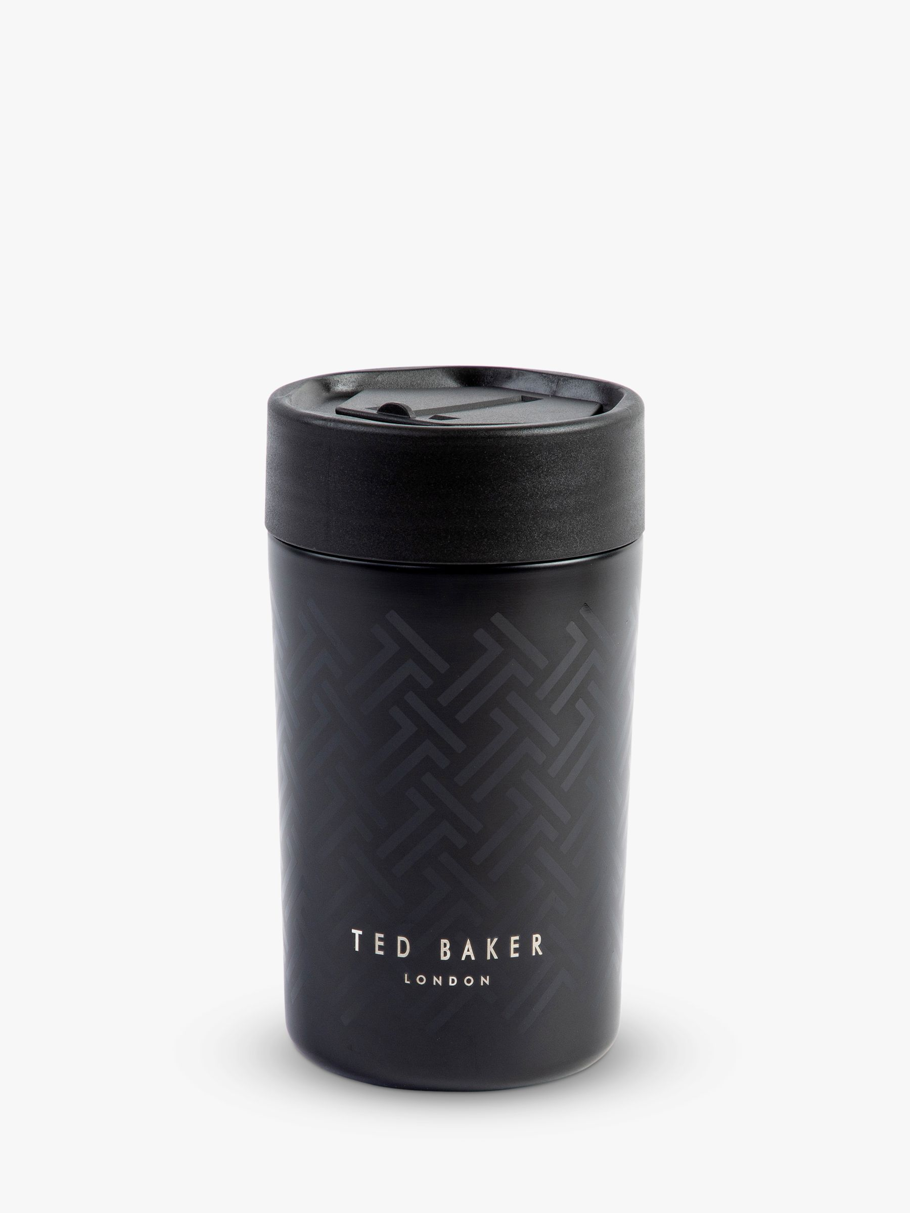 Ted Baker T Black Travel Mug 300ml At John Lewis Partners