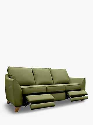 G Plan Vintage The Sixty Eight Large 3 Seater Sofa with Double Footrest Mechanism