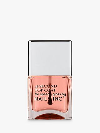Nails Inc 45 Second Quick Drying Top Coat, 14ml