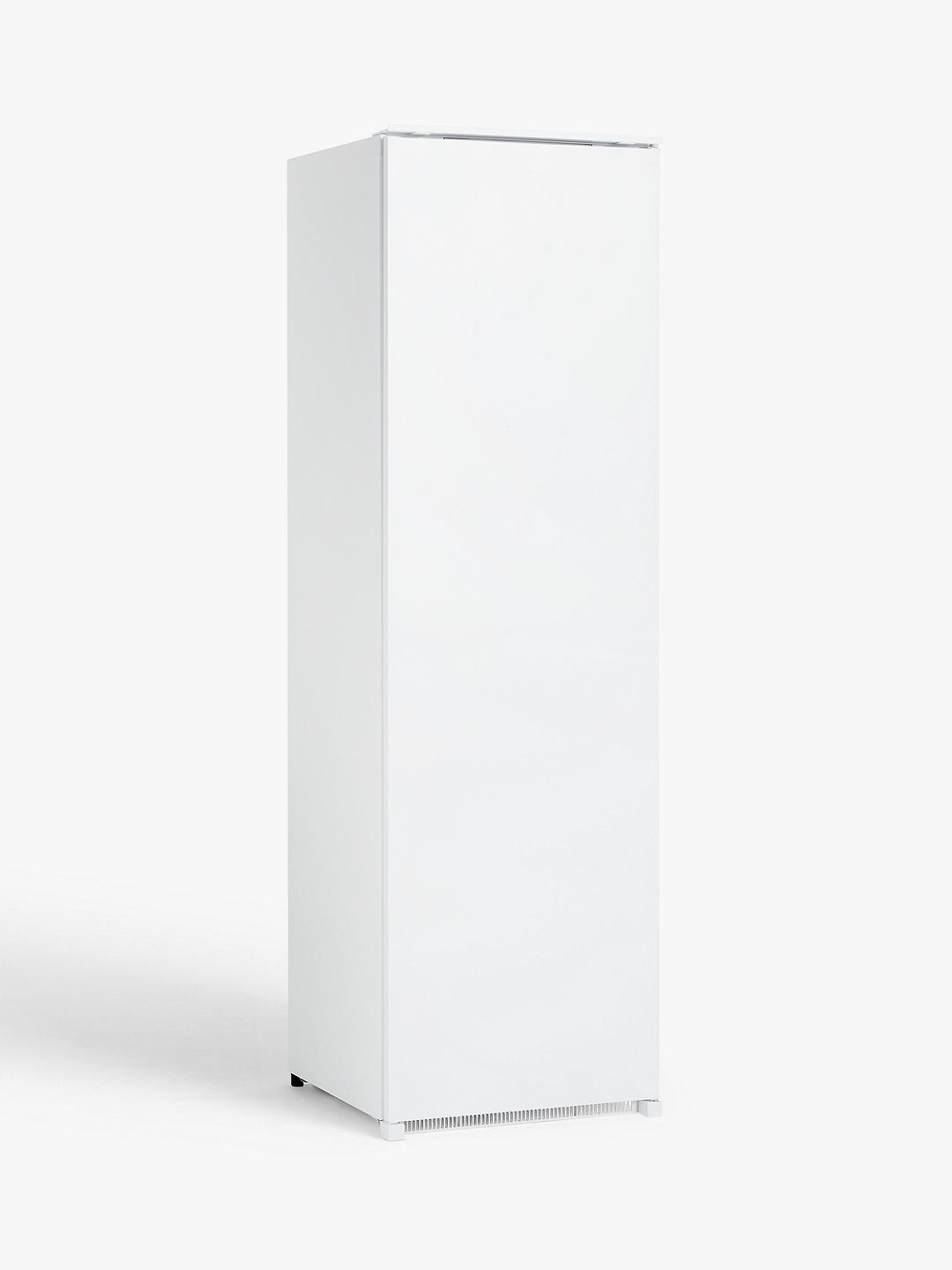 Buy John Lewis & Partners JLBIFIC08 Tall Integrated Freezer, A+ Energy Rating, 54cm Wide, White Online at johnlewis.com