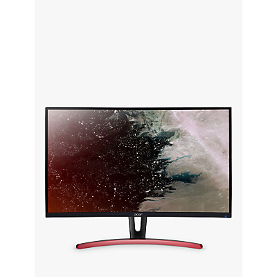 Acer E Series ED273URPbidpx, Quad HD Curved Monitor, 27, Black