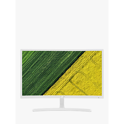 Acer E Series ED242QRwi, Full HD Curved Monitor, 23.6, White