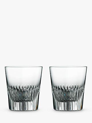 Royal Doulton R&D Calla Glass Tumblers, Set of 2, 240ml, Clear