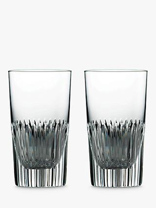 Royal Doulton R&D Calla Highball Glasses, Set of 2, 275ml, Clear