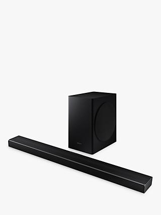 Samsung HW-Q60T Bluetooth Cinematic Sound Bar with Virtual DTS:X & Wireless Subwoofer