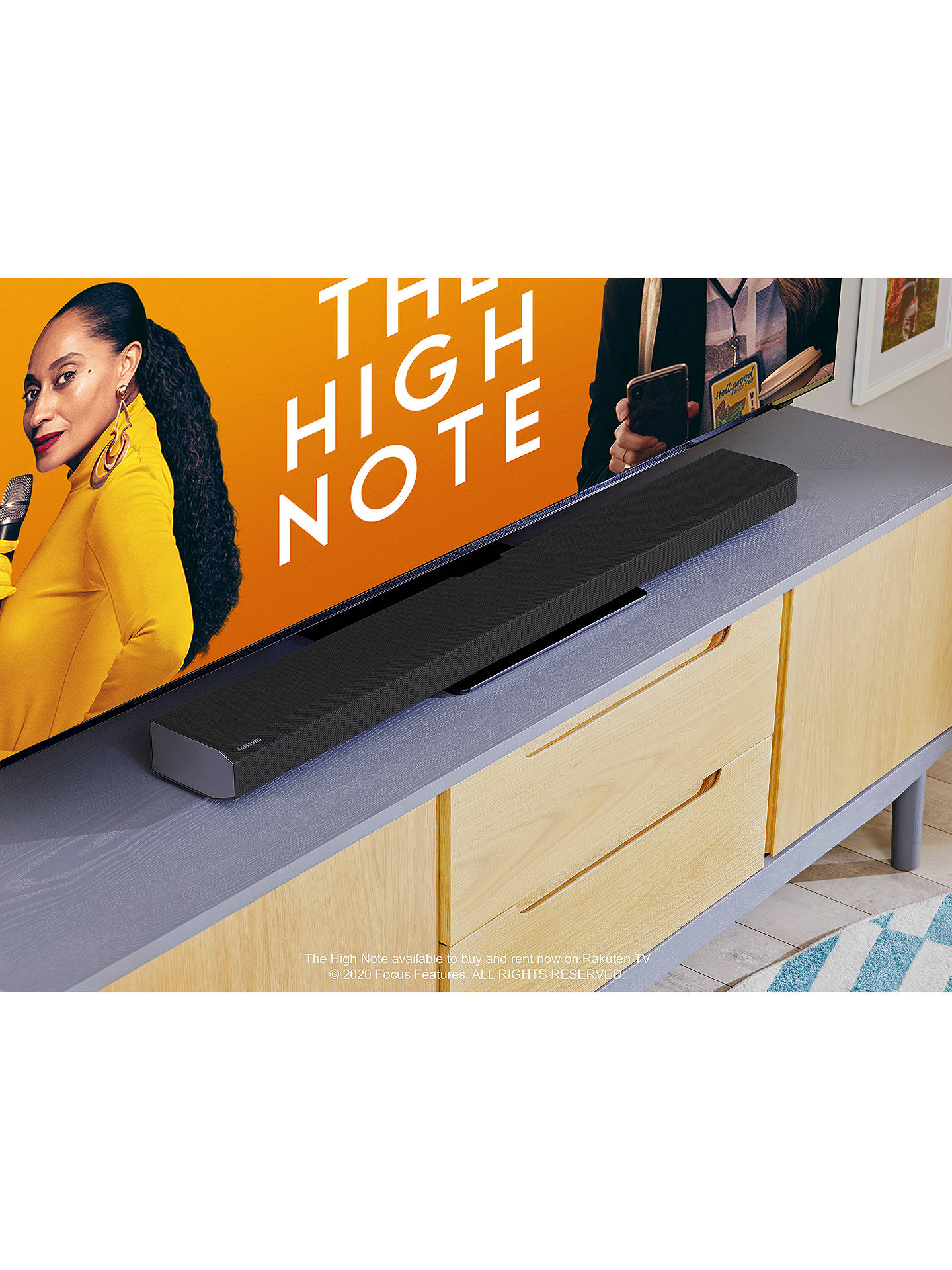 Buy Samsung HW-Q800T Bluetooth Wi-Fi Cinematic Sound Bar with Dolby Atmos, Virtual DTS:X & Wireless Subwoofer Online at johnlewis.com