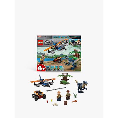 LEGO Jurassic World 75942 Velociraptor: Biplane Dinosaur Rescue Mission
