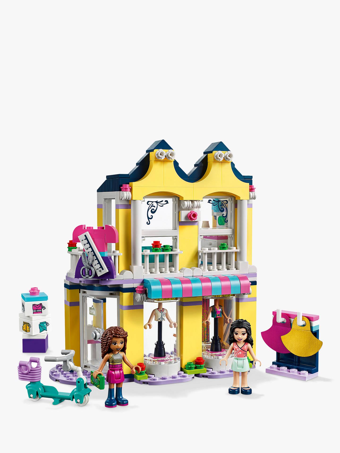 LEGO Friends 41427 Emma's Fashion Shop at John Lewis ...