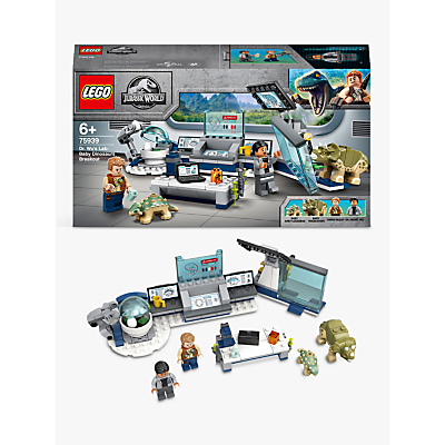 LEGO Jurassic World 75939 Dr. Wus Lab: Baby Dinosaurs Breakout