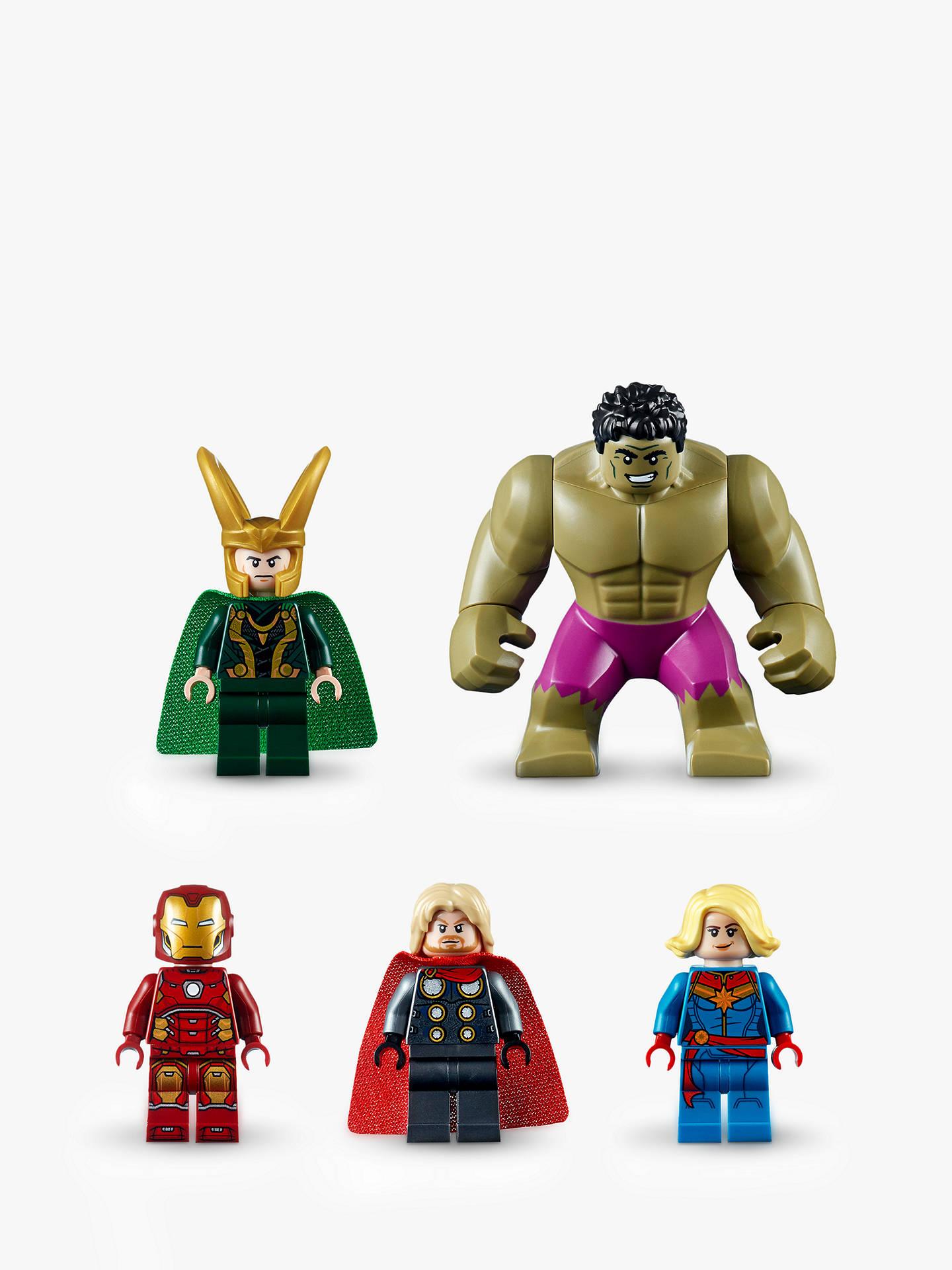 LEGO Marvel Avengers 76152 Wrath of Loki at John Lewis ...