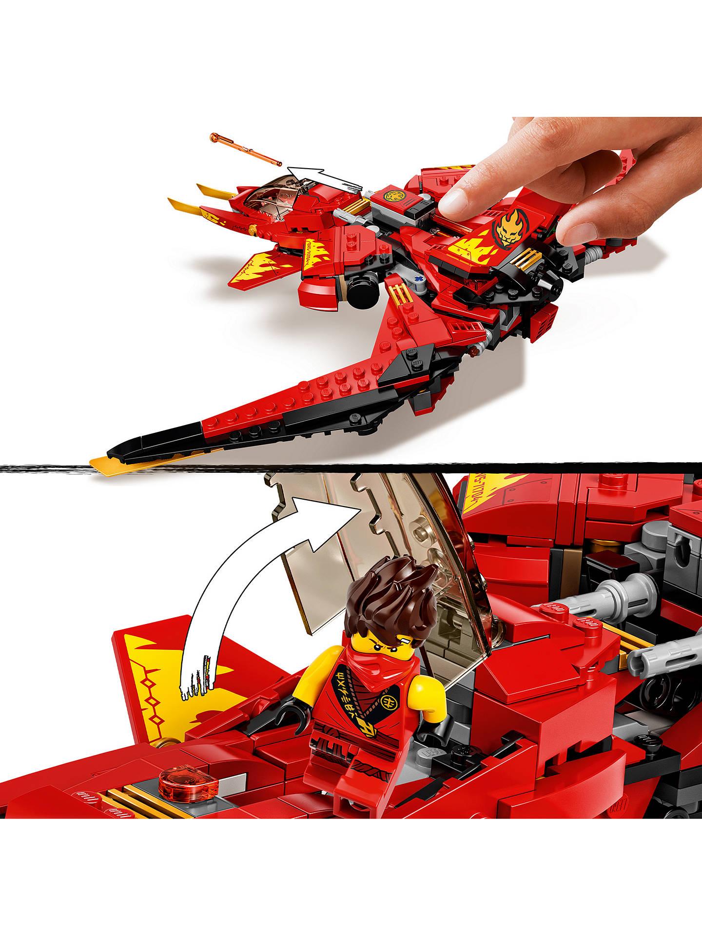 Lego Ninjago 71704 Kai Fighter At John Lewis Partners