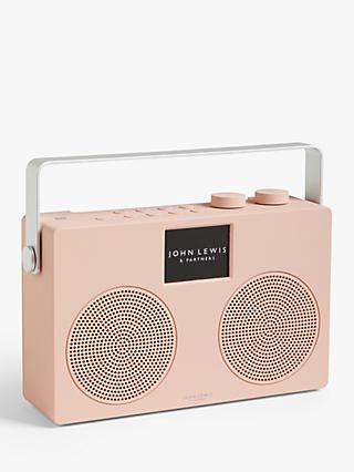 John Lewis & Partners Spectrum Duo II DAB/DAB+/FM NFC Digital Radio with Wireless Connectivity