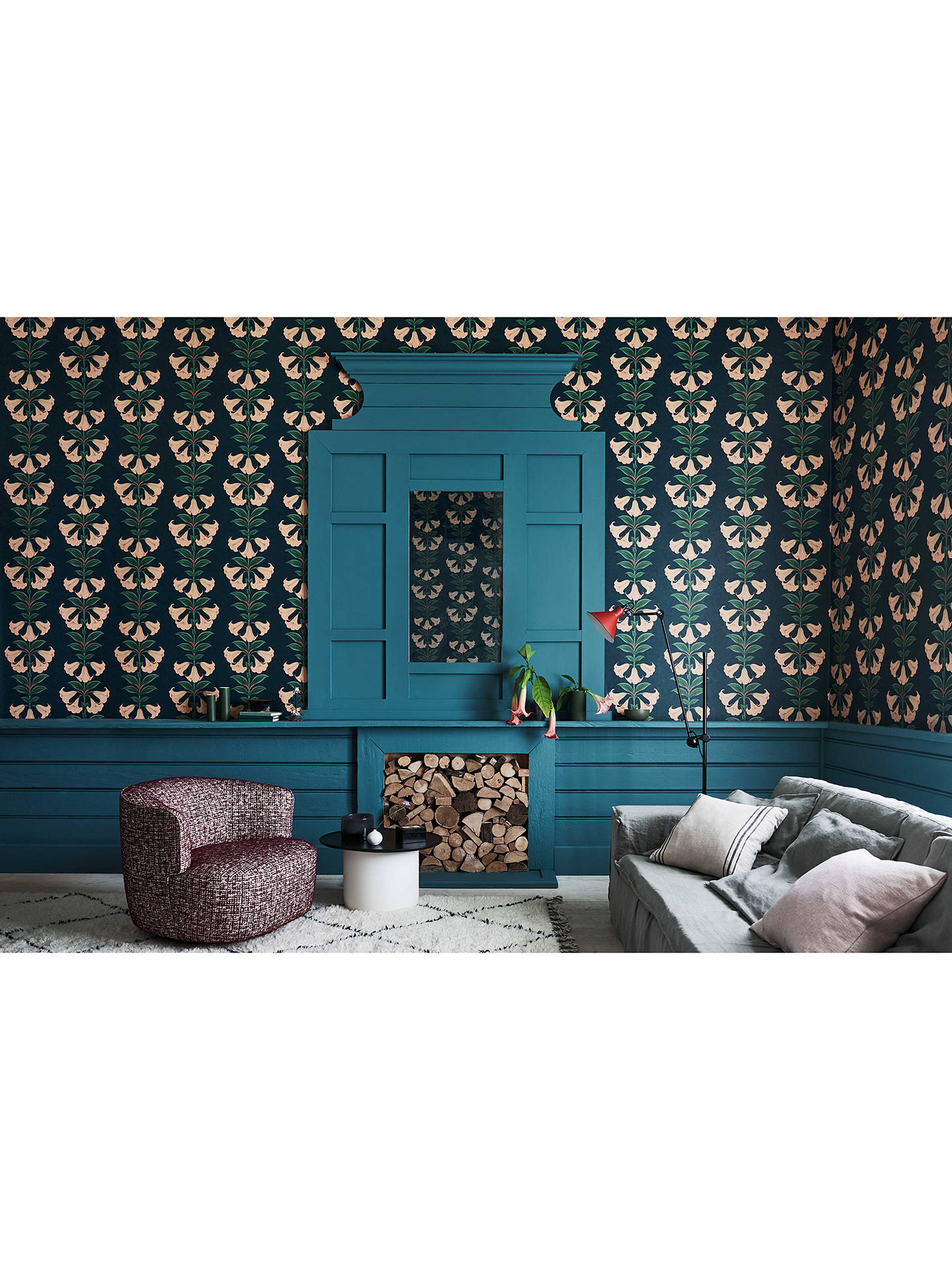 Buy Cole & Son Angel's Trumpet Wallpaper, 117/3009 Online at johnlewis.com