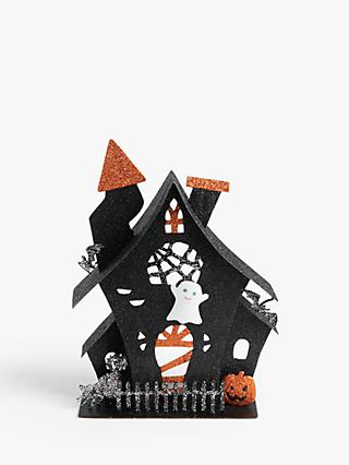 John Lewis & Partners Haunted House Tealight Halloween Decoration