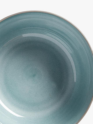 Buy John Lewis & Partners Ceramic Reactive Glaze Serving Bowl, 22cm, Blue Online at johnlewis.com