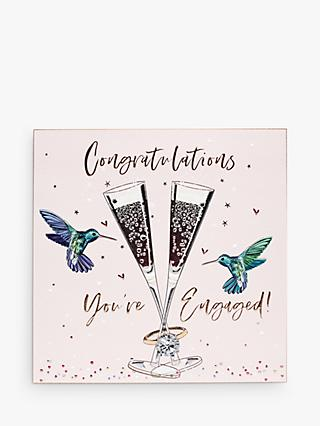 Belly Button Designs Birds Engagement Card