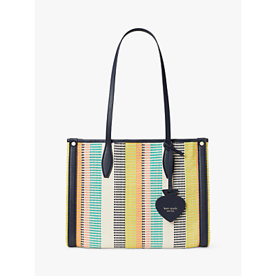 Product photo of Kate spade new york canvas woven tote bag multi