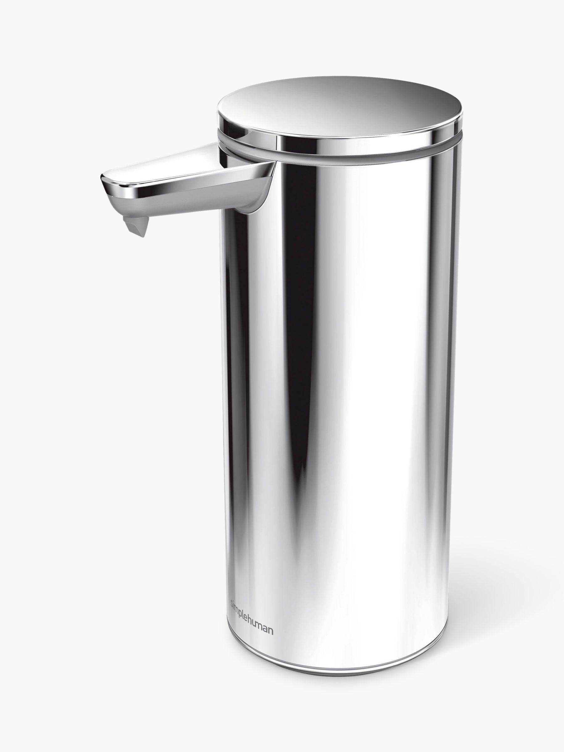 simplehuman Touch Free Rechargeable Sensor Soap Pump