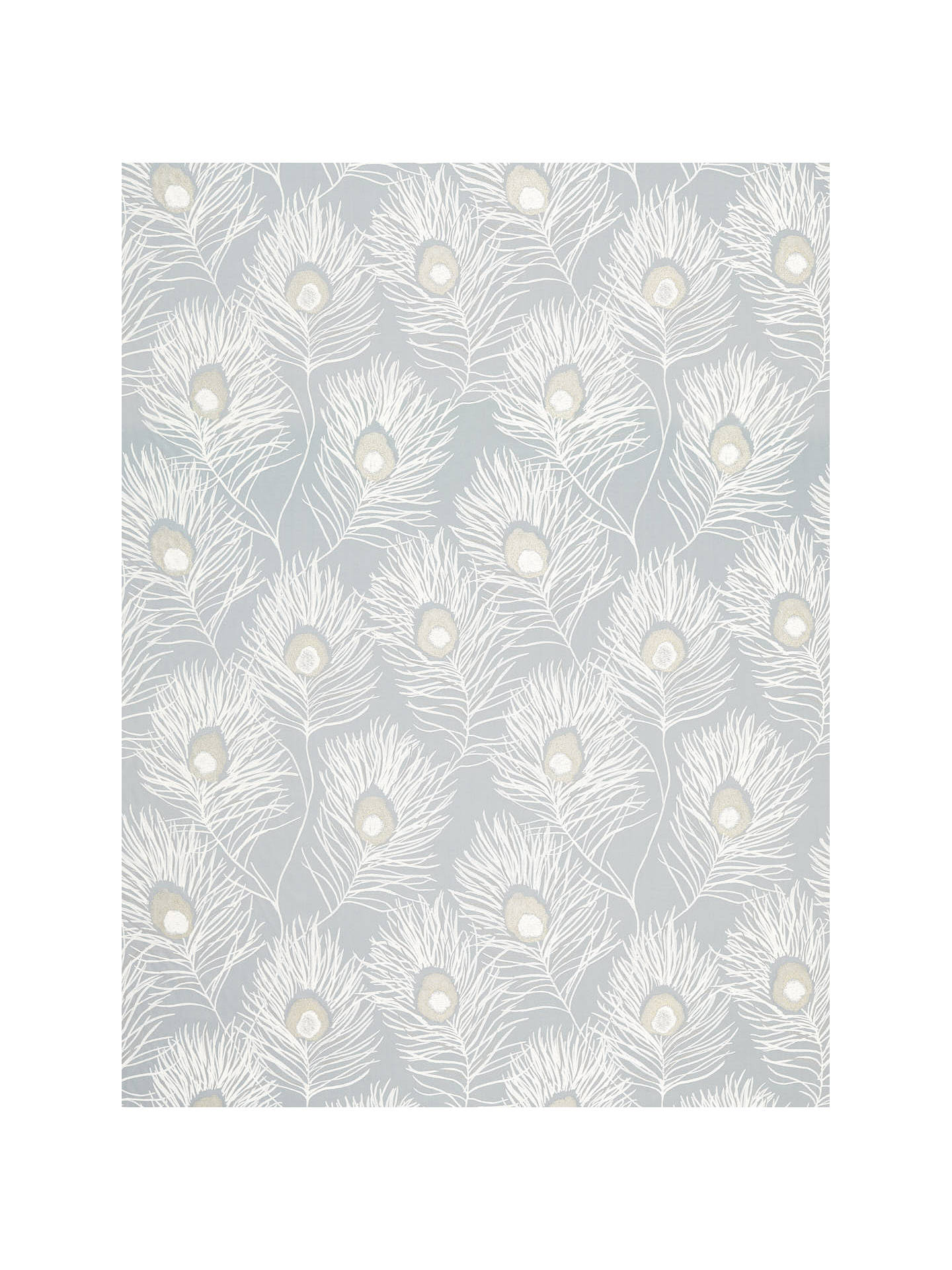 Buy Harlequin Orlena Furnishing Fabric, Powder Blue/Gilver Online at johnlewis.com